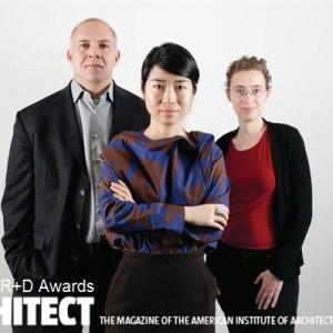 Jinhee Juries Architect's R+D awards