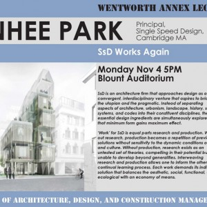 Jinhee Park lecture Wentworth