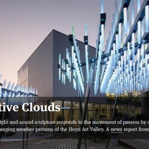 Cloud Featured in Domus