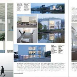 SsD featured in Richard Meier curated l'Arca