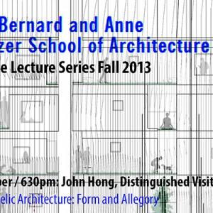 John Hong lectures at CCNY, 10/3