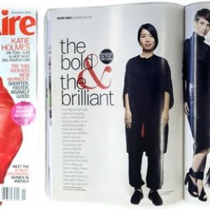 Jinhee Park wins Marie Claire Award