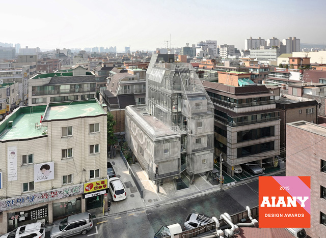 songpa micro-housing wins aiany design awards