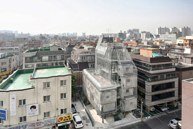 songpa micro-housing aerial