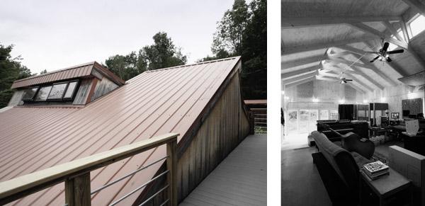 verdant scissor roof